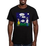 Spookoree Men's Fitted T-Shirt (dark)