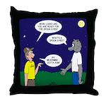 Spookoree Throw Pillow