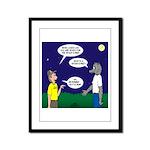 Spookoree Framed Panel Print