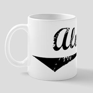 Alva Vintage (Black) Mug