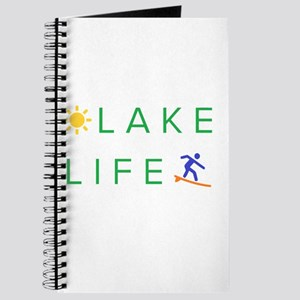 Inspiration quote - lake life Journal