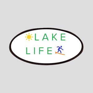 Inspiration quote - lake life Patch