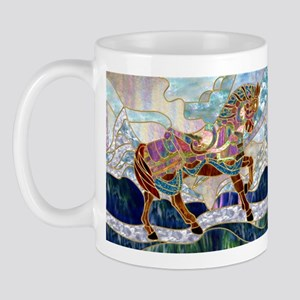 Armoured Carousel Horse Mug