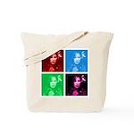 Chaka Khan in Color Tote Bag
