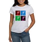 Chaka Khan in Color Women's T-Shirt
