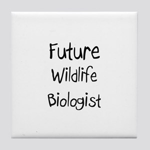 Future Wildlife Biologist Tile Coaster