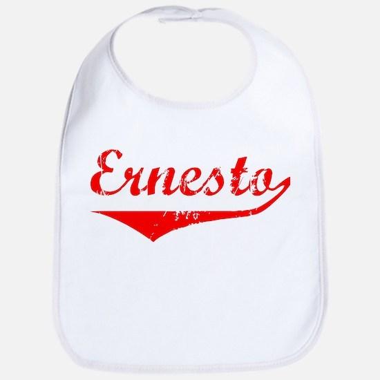 Ernesto Vintage (Red) Bib