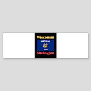 Sheboygan Wisconsin Bumper Sticker