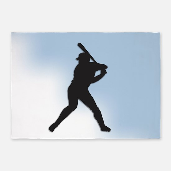 Batter Up 5'x7'Area Rug