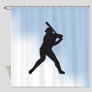 Batter Up Shower Curtain