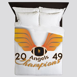Wallace Angels Football 2049 Champions Queen Duvet
