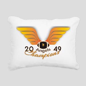 Wallace Angels Football Rectangular Canvas Pillow