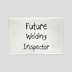 Future Welding Inspector Rectangle Magnet