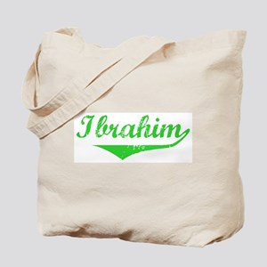 Ibrahim Vintage (Green) Tote Bag