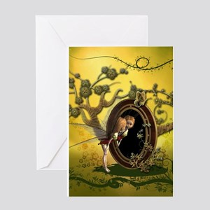 Cute fairy Greeting Cards