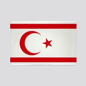 North Cyprus flag Rectangle Magnet