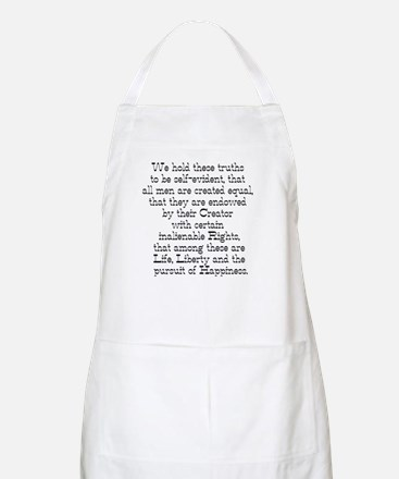 Declaration of Independence BBQ Apron