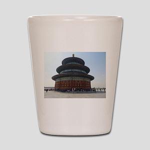 TempleinBeijing Shot Glass
