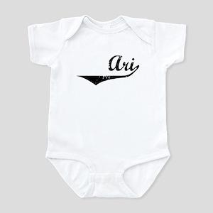 Ari Vintage (Black) Infant Bodysuit