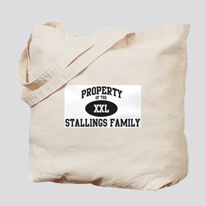 Property of Stallings Family Tote Bag