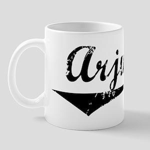 Arjun Vintage (Black) Mug