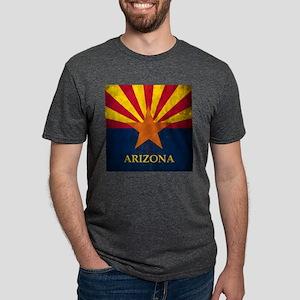 Grunge Arizona Flag T-Shirt