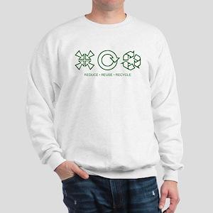 Reduce Reuse Recycle Sweatshirt