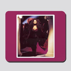 Chaka Khan Portrait with Pillars Mousepad
