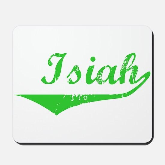 Isiah Vintage (Green) Mousepad
