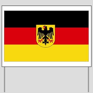 German COA flag Yard Sign