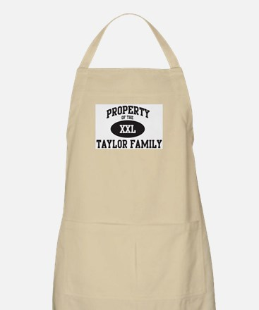 Property of Taylor Family BBQ Apron