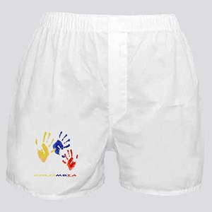 Colombian hands Boxer Shorts