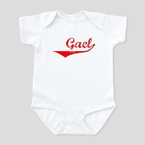Gael Vintage (Red) Infant Bodysuit