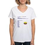 Colombian made Women's V-Neck T-Shirt