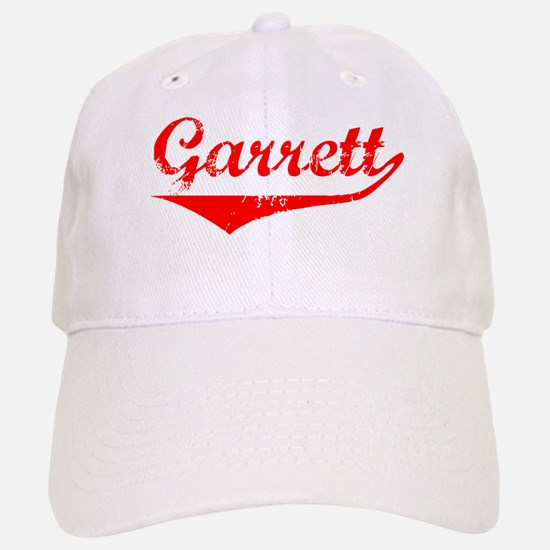 Garrett Vintage (Red) Baseball Baseball Cap