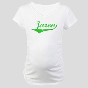 Jaron Vintage (Green) Maternity T-Shirt