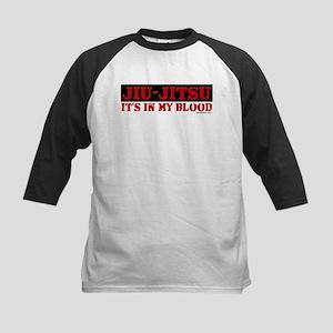JIU-JITSU (IT'S IN MY BLOOD) Kids Baseball Jersey