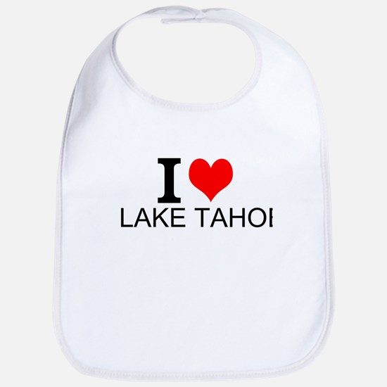 I Love Lake Tahoe Bib
