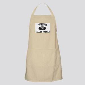 Property of Talley Family BBQ Apron