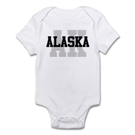 AK Alaska Infant Bodysuit