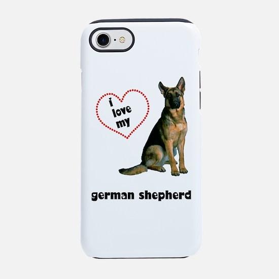 German Shepherd Love iPhone 8/7 Tough Case