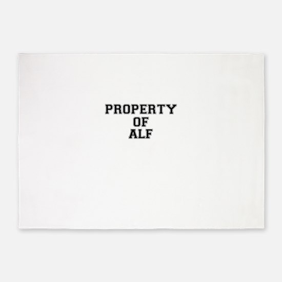 Property of ALF 5'x7'Area Rug