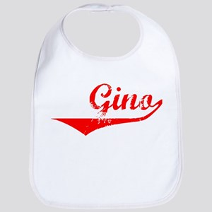 Gino Vintage (Red) Bib