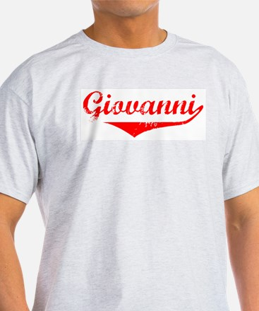 Giovanni Vintage (Red) T-Shirt