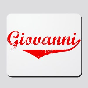 Giovanni Vintage (Red) Mousepad