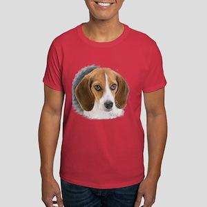 Beagle Close Up Dark T-Shirt