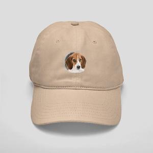 Beagle Close Up Cap