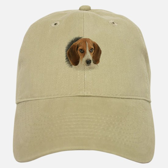 Beagle Close Up Baseball Baseball Cap