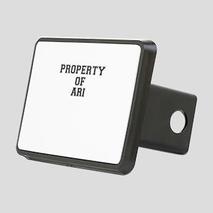 Property of ARI Rectangular Hitch Cover