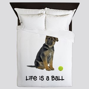 German Shepherd Life Queen Duvet